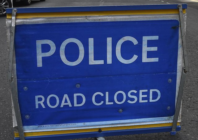 Sandwick Road is to remain closed overnight.