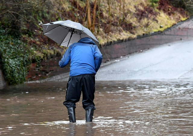 Heavy rain is expected to hit the Western Isles tonight and tomorrow.
