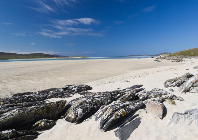 Luskentyre has been ranked as one of the best beaches in the world.
