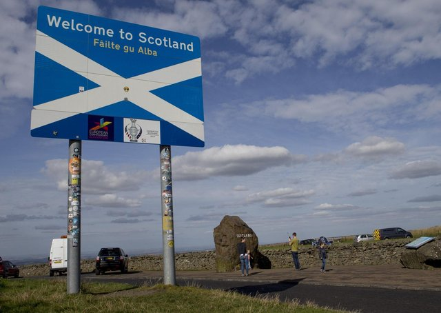 'Welcome to Scotland' is the message, but is it?