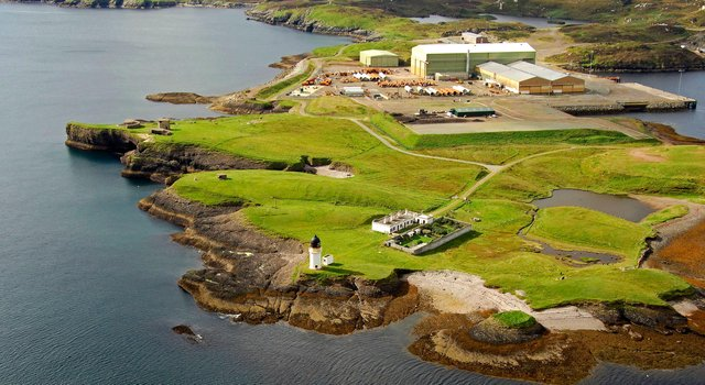 It is proposed that the new hydrogen energy hub be located at Arnish