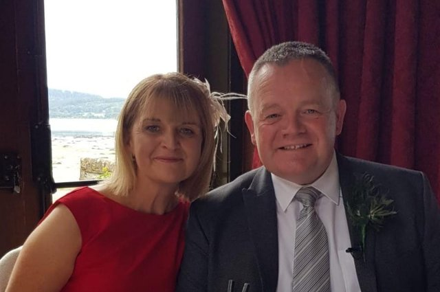 Reverend Colin MacLeod and wife, Aileen
