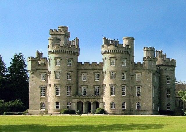 Cluny Castle in Aberdeenshire, once home to Colonel John Gordon of Cluny, father-in-law to Lady Gordon Cathcart