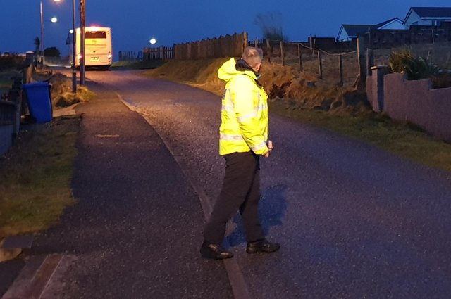 Wearing reflective clothing can make all the difference