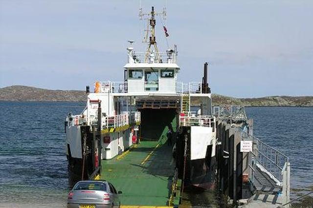 Inter island ferry service