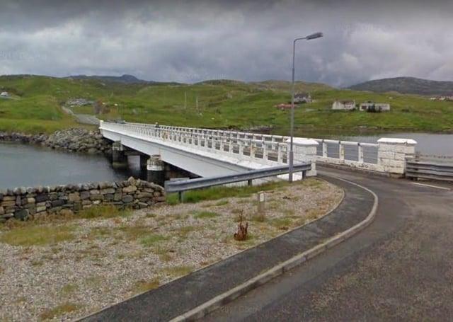 The bridge at Bernera