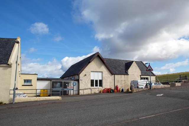 The old Knock School
