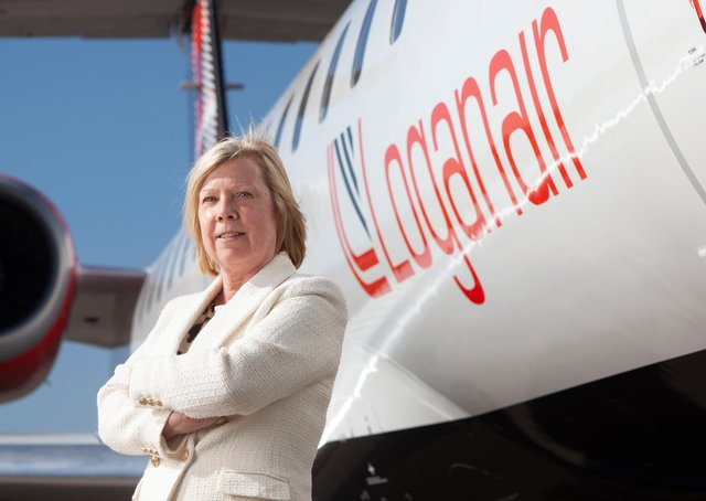 Kay Ryan from Loganair said they were delighted to announce an expansion of services