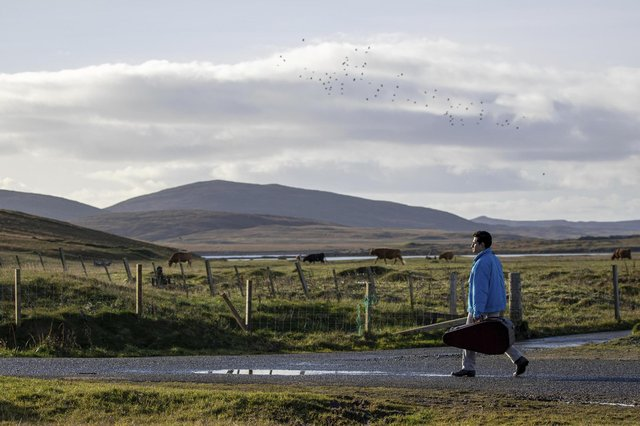 """The wide open spaces of North Uist provided the perfect cinematic backdrop for the story of a refugee in """"Limbo"""""""