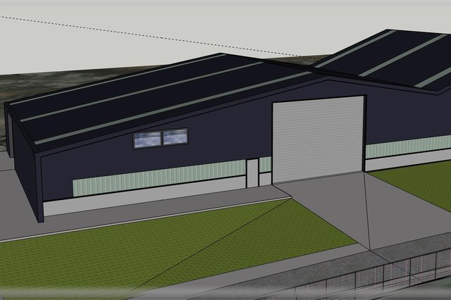 The applicant has stated the new factory could employ up to 15 local people.
