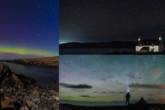 The Hebridean skies provide some great opportunities for night time photography.