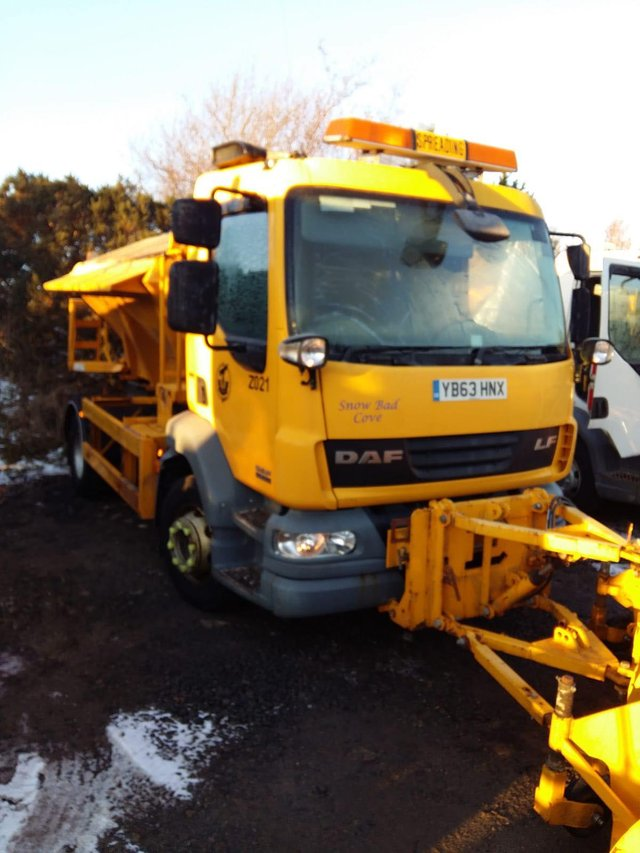 Fancy your chances at naming a gritter?