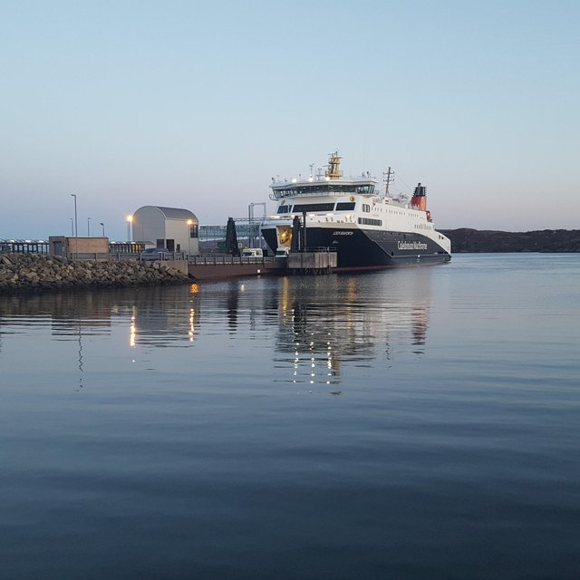 The Loch Seaforth is fully booked for July.... even at times for foot passengers