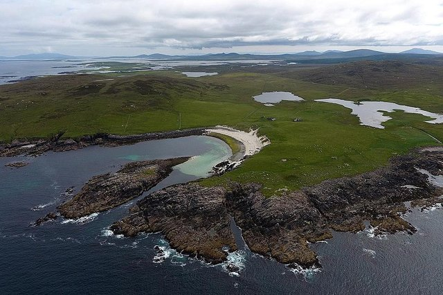 Could the Scolpaig peninsula be the next satellite vertical launch rocket site? Pic: Courtesy Conor Lawless.