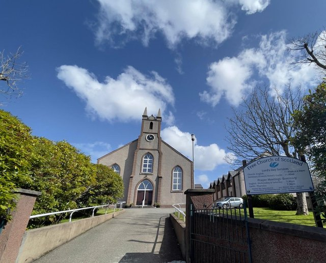The Free Church of Scotland in Stornoway was among those who broadcast services across the internet during lockdown