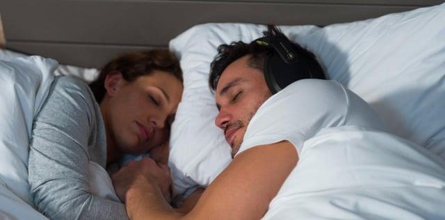 The Kokoon headphones are designed to end the waking nightmare of sleepless nights. Image: Kokoon