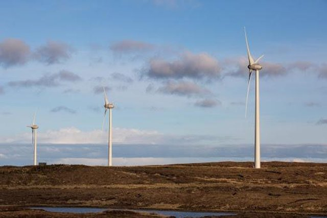 The community wind farm has walked off with yet another award.