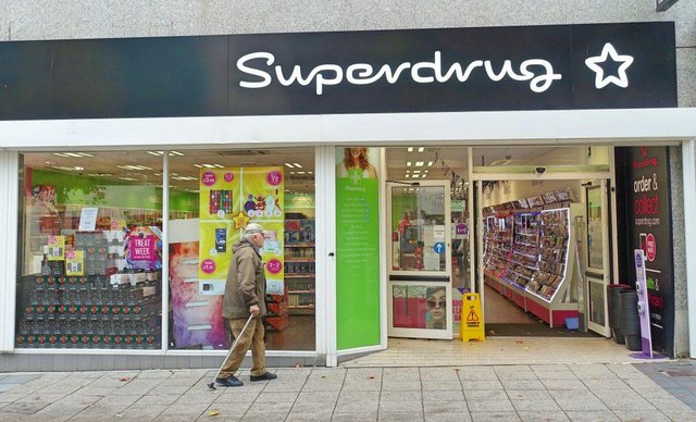 Superdrug on the island is now stocking the test kits.