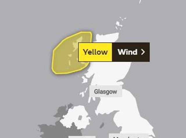 The MET Office have issued another weather warning for the Western Isles