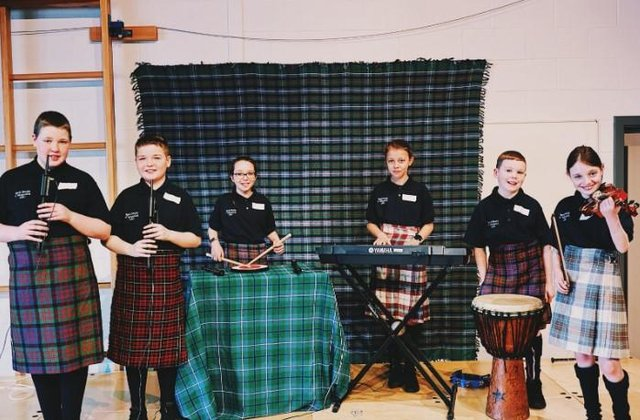 Balivanich School Band