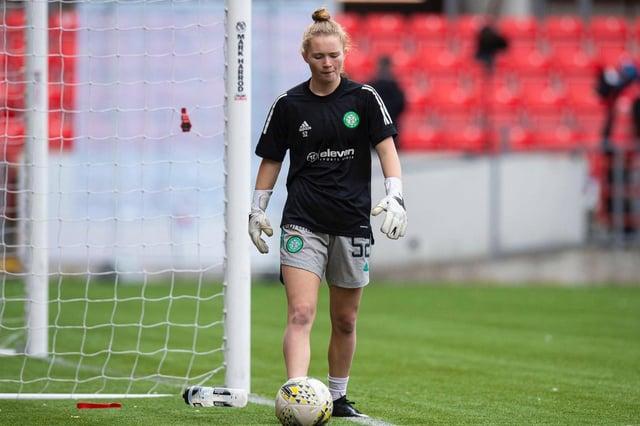 Celtic Women's goalkeeper Rachael Johnstone