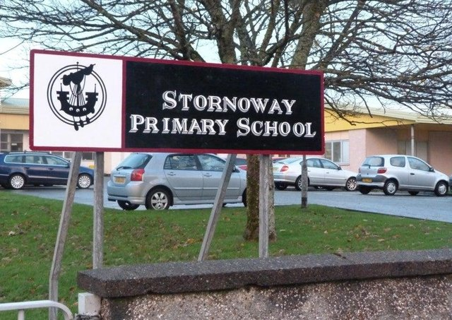 Stornoway Primary has been closed temporarily.