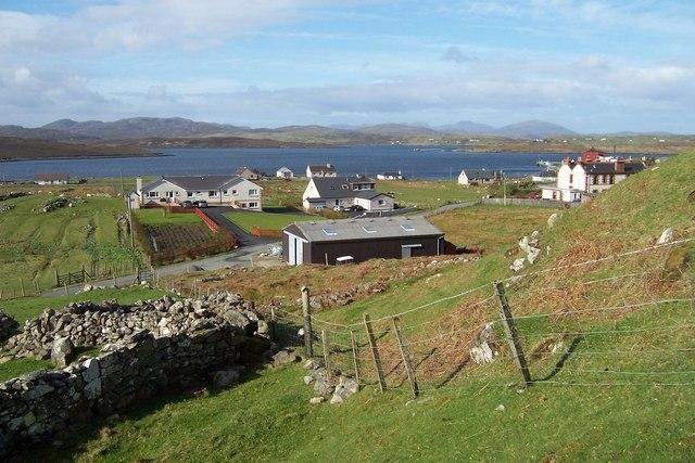 Communities like Breasclete in Lewis are in danger of missing out on the offshore wind revolution. Pic: Robert Watson.