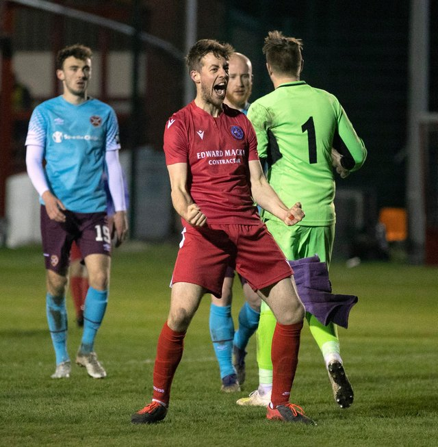 Martin Maclean will get a shot at League 2 play-off