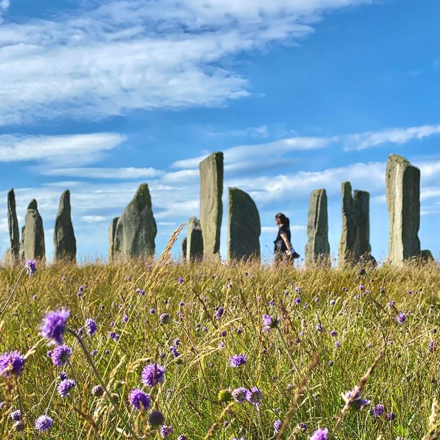 The world-famous Callanish Stones