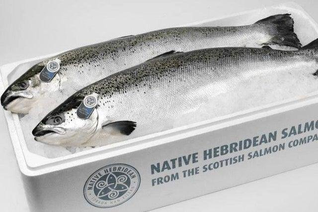 Hebridean raised salmon is now available as a smoked product.