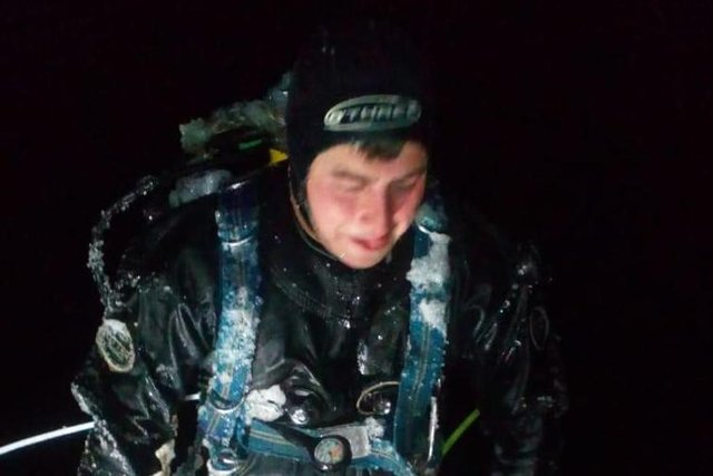 Night diving was a necessity