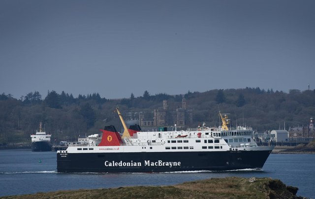 The Isle of Lewis approaching Stornoway. The ageing vessel has been brought back onto the route as cover, causing severe disruption elsewhere and major concern being over how the entire organisation is governed.